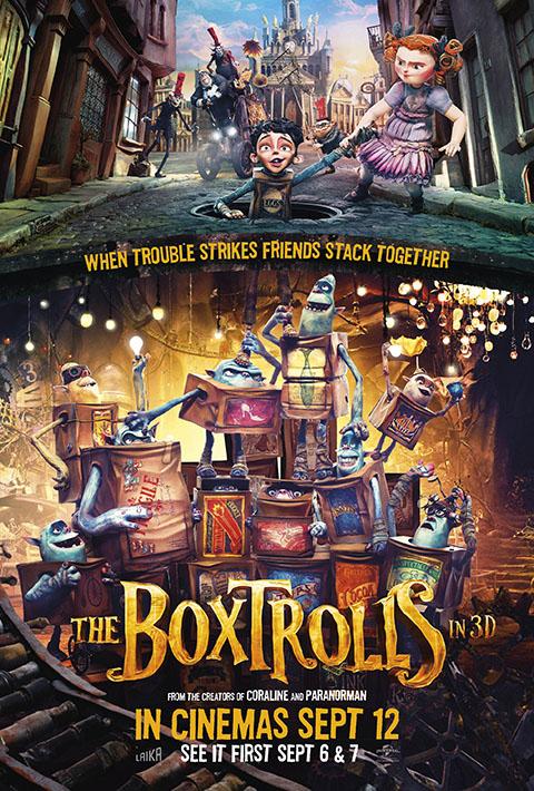 BOXTROLLS – LE SCATOLE MAGICHE (2014)