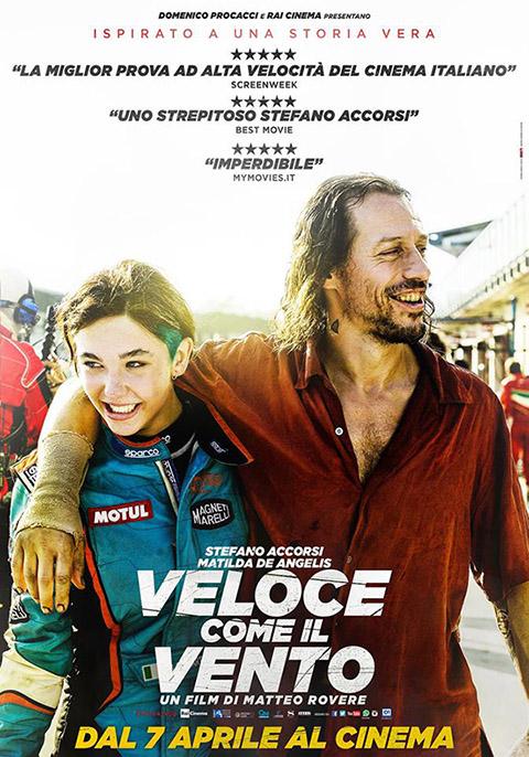 VELOCE COME IL VENTO (2016)