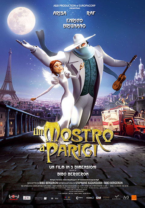 UN MOSTRO A PARIGI (2011)