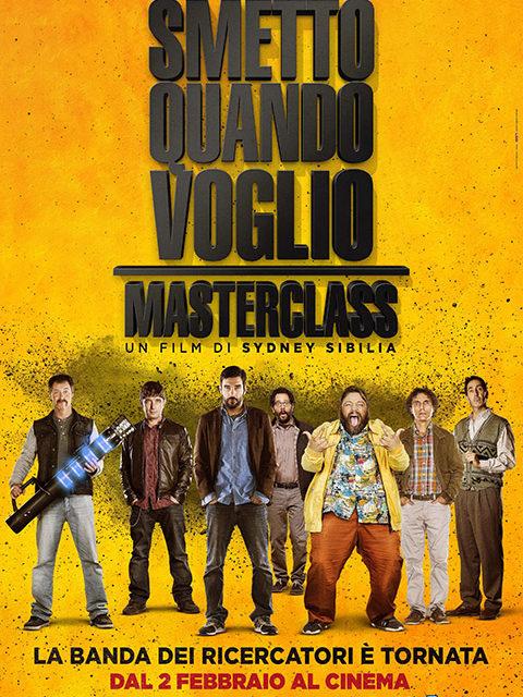 SMETTO QUANDO VOGLIO – MASTERCLASS (2017)
